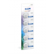 Bateria / Pilha Botão Cr2032 3V Lithium Com 05 unidades - Elgin