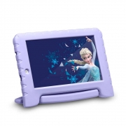 Tablet Multilaser Frozen 7 pol 16GB 1GB Ram Android capa emborrachada - NB315