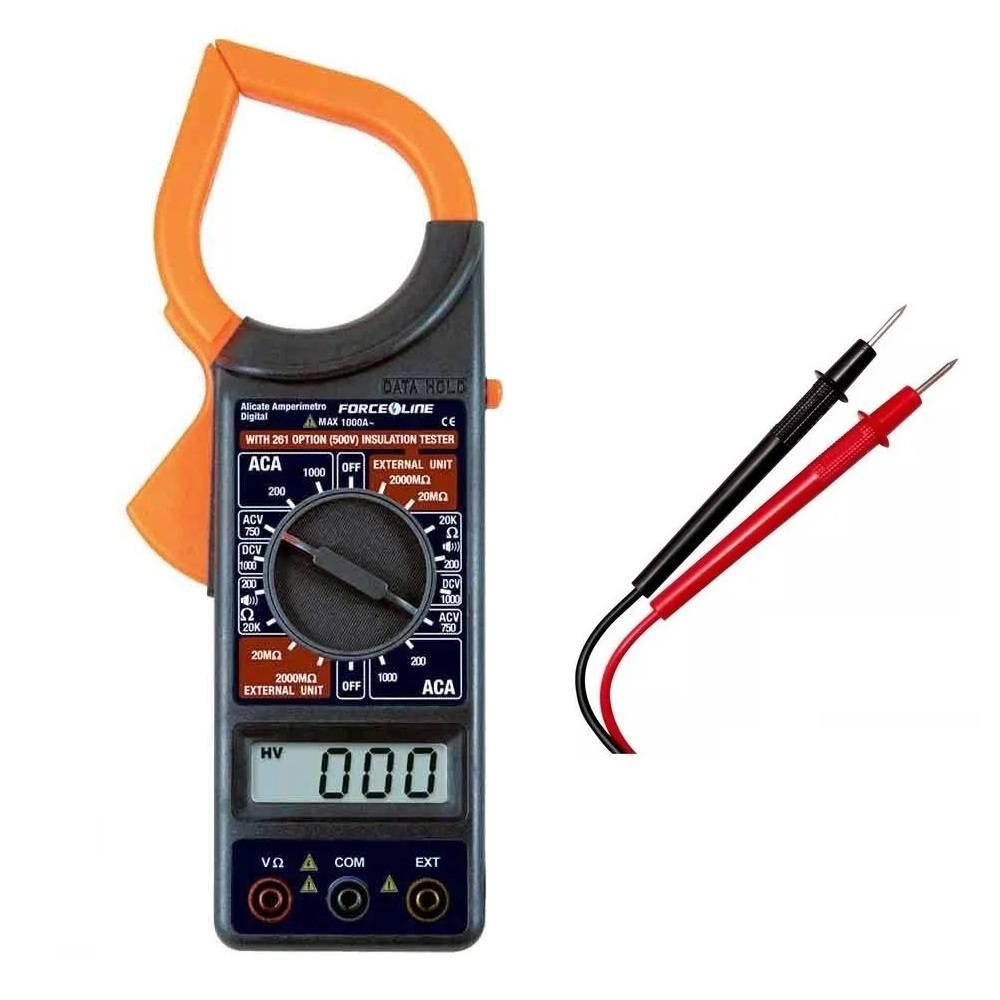 ALICATE AMPERIMETRO 1000 AMPERES Multimetro Digital - 5301