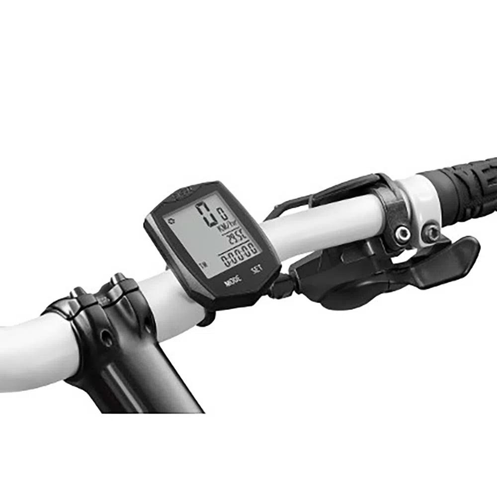 Ciclocomputador Wirelless Sem Fio com 22 Funções Touch Preto Atrio BI086