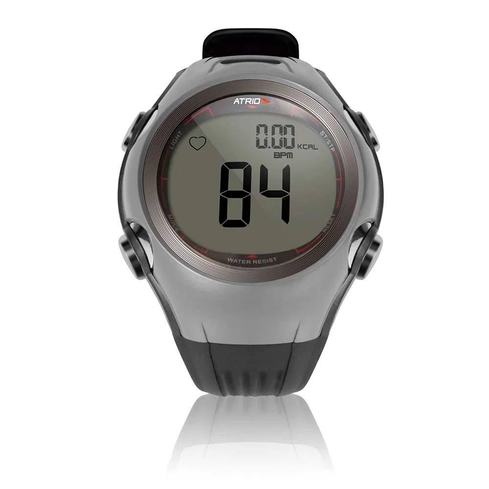 Relógio Monitor Cardíaco Atrio Altius com Cinta Cardíaca Cinza - HC008