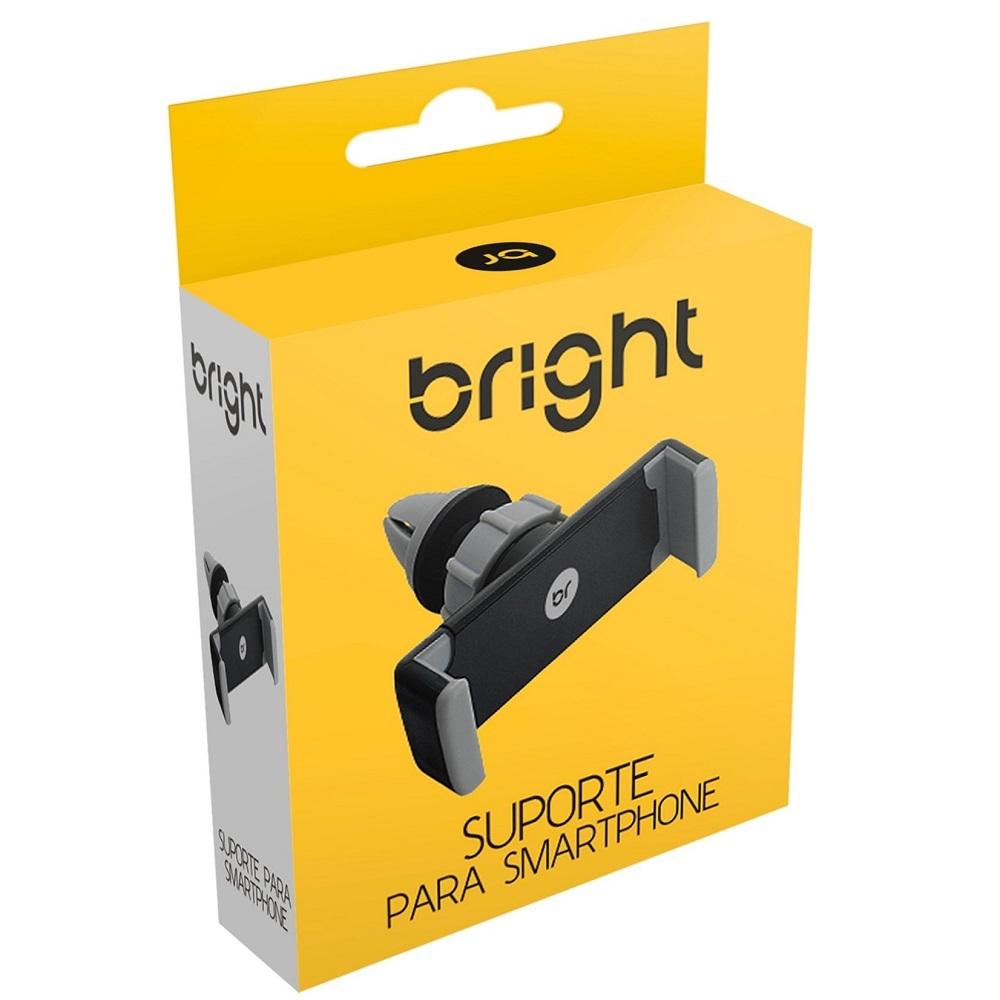 Suporte Celular Gps Veicular Carro Universal Ar Condicionado - Bright