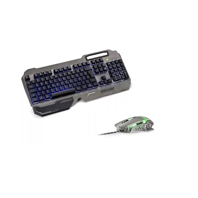 Teclado E Mouse Gamer 3200dpi Ragnar Keon Warrior Rgb Com Led - TC223
