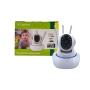 Câmera Robô Ip Wifi 360º Com 3 Antenas 720p Sistema Yoosee