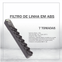 FILTRO DE LINHA EM ABS - 7 TOMADAS