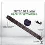 Filtro de Linha Rack 19