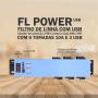 FL POWER - FILTRO DE LINHA COM USB
