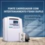Fonte Carregador Com Intertravamento F5000 Duplo