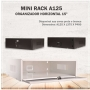 Mini Rack Organizador Horizontal A125 15'' - Branco