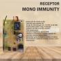 Receptor Mono Immunity 433 Multicódigos 512 - TX (Memória Externa)