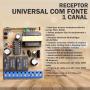 Receptor Universal Com Fonte 433,92 MHZ - 1 Canal