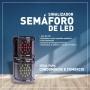 SINALIZADOR SEMÁFORO DE LED 12V