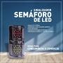 SINALIZADOR SEMÁFORO DE LED BIVOLT