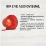 Sirene Audiovisual 1 Som 12V / 24V