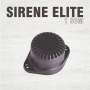 Sirene Elite 1 Som - Preta