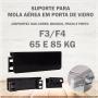Suporte Para Mola Aérea F3 até 65Kg ou F4 até 85Kg - Preto