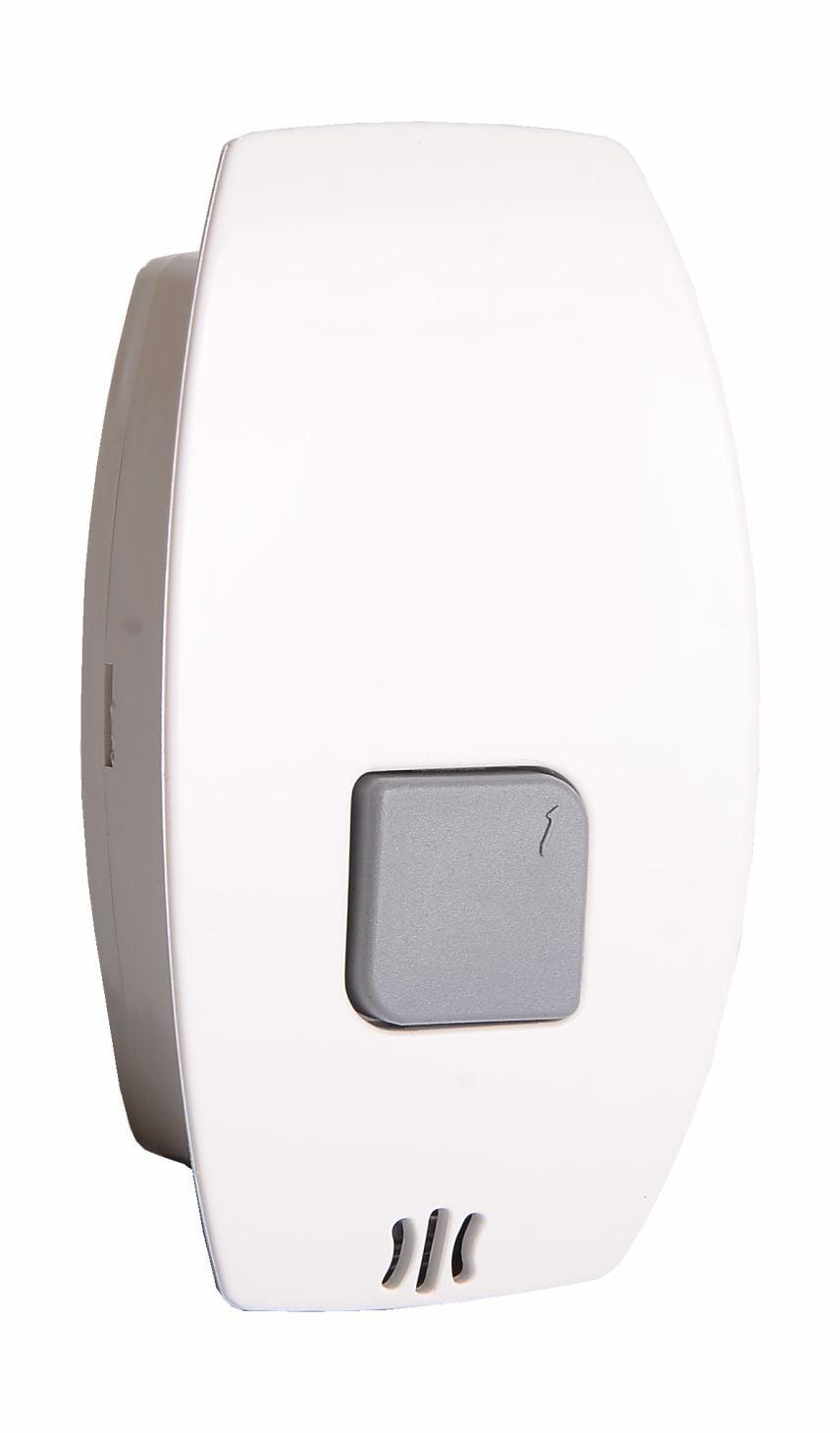 Botoeira Prime Eletrônica Com RF 1 Canal - Branca