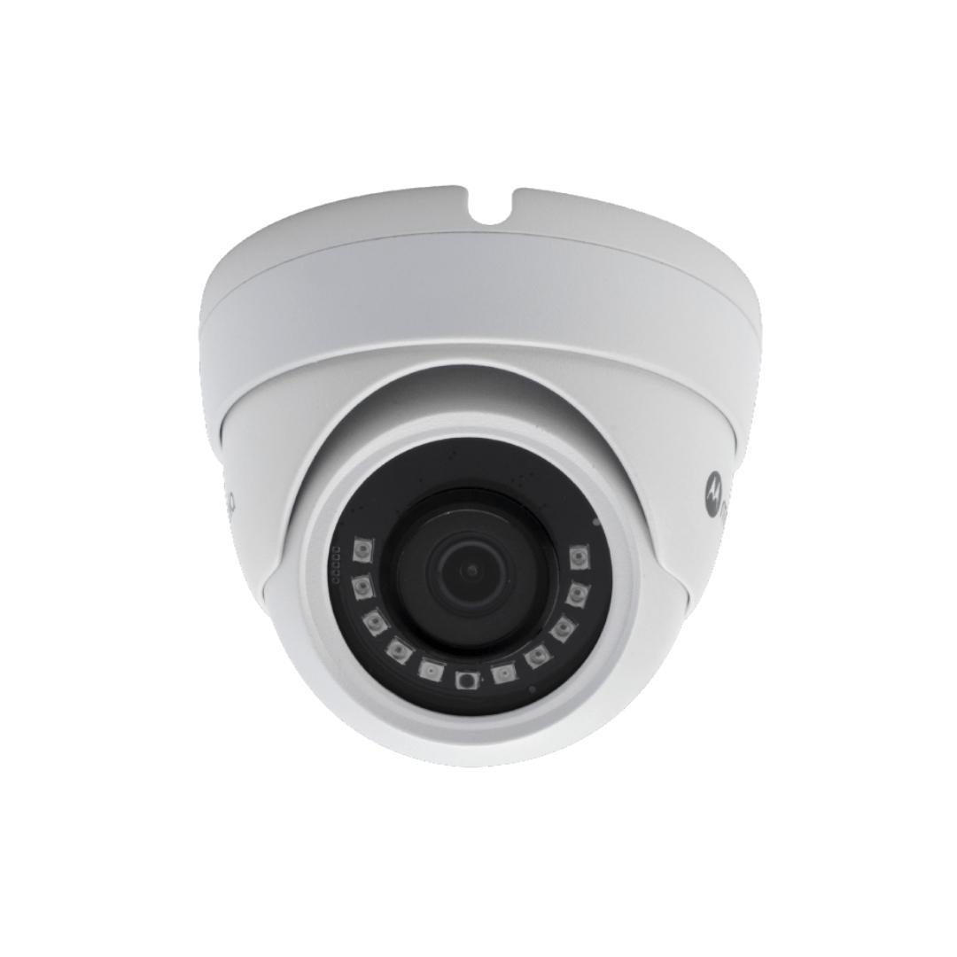 Câmera De Segurança Motorola Ip Dome 2mp Lente 2,8mm Mtidm022601