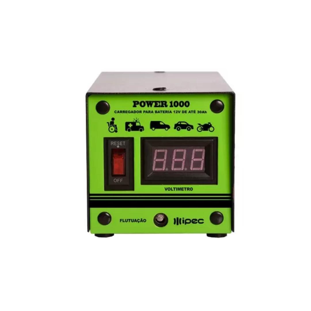 Carregador Para Bateria Power 1000
