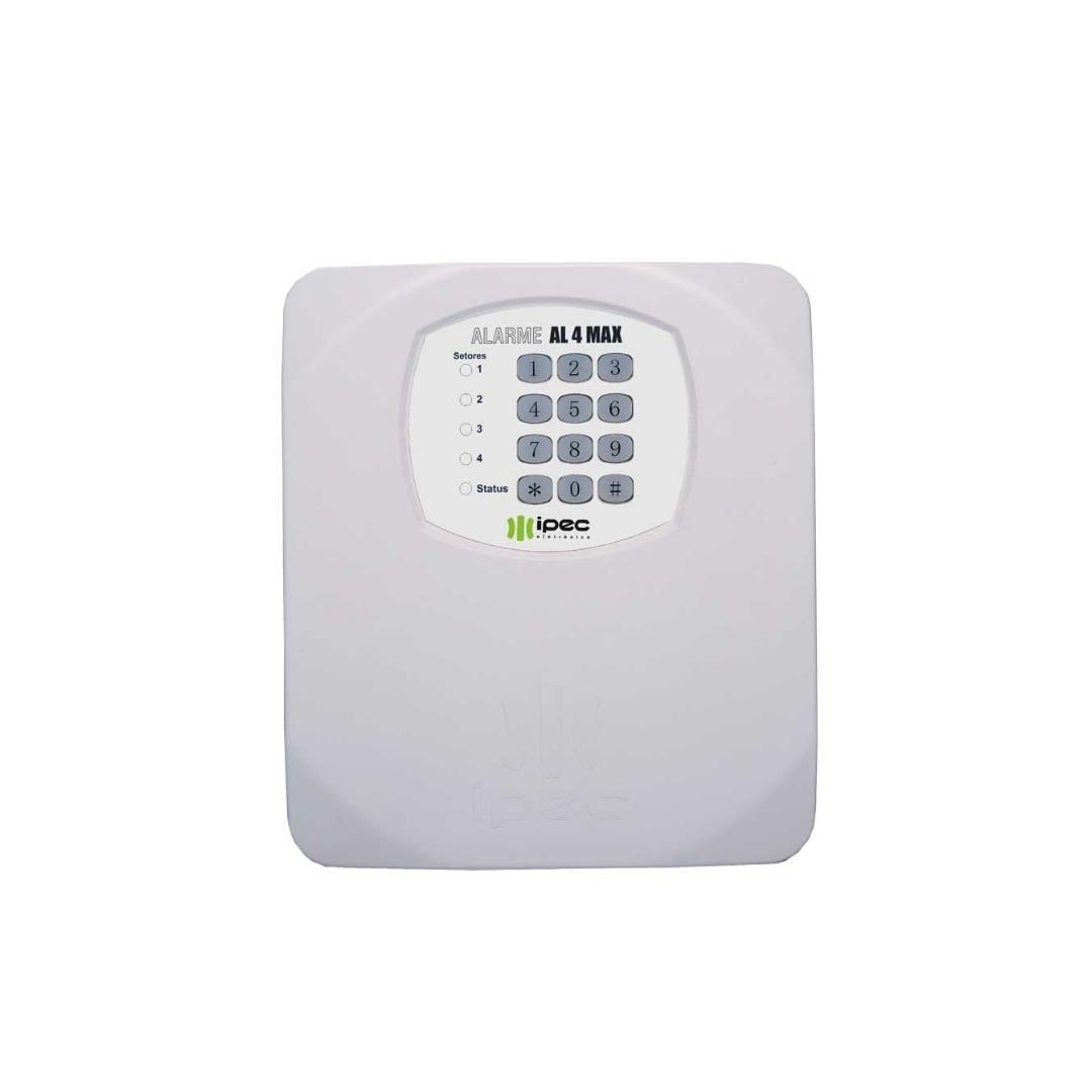 Central de Alarme AL4 Max - 4 Setores Particionáveis