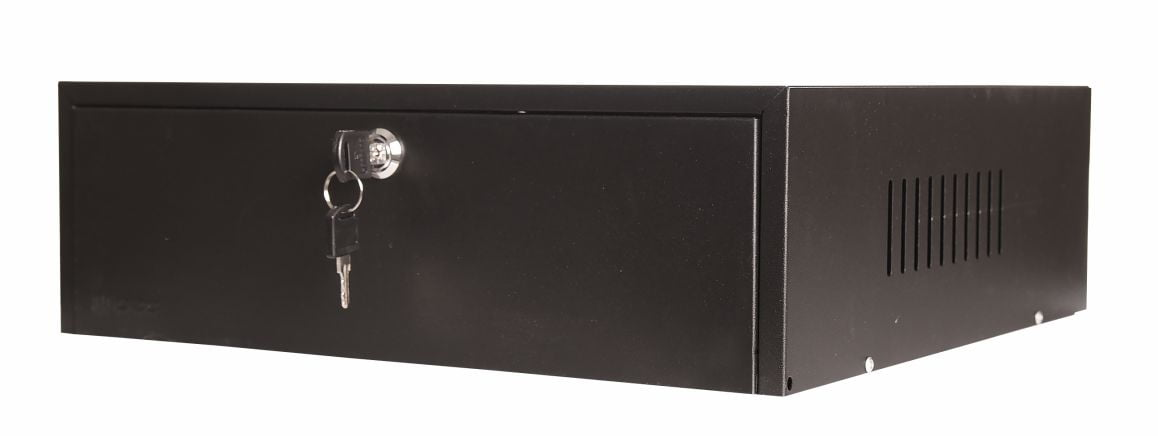 Mini Rack Organizador Horizontal A125 15'' - Preto
