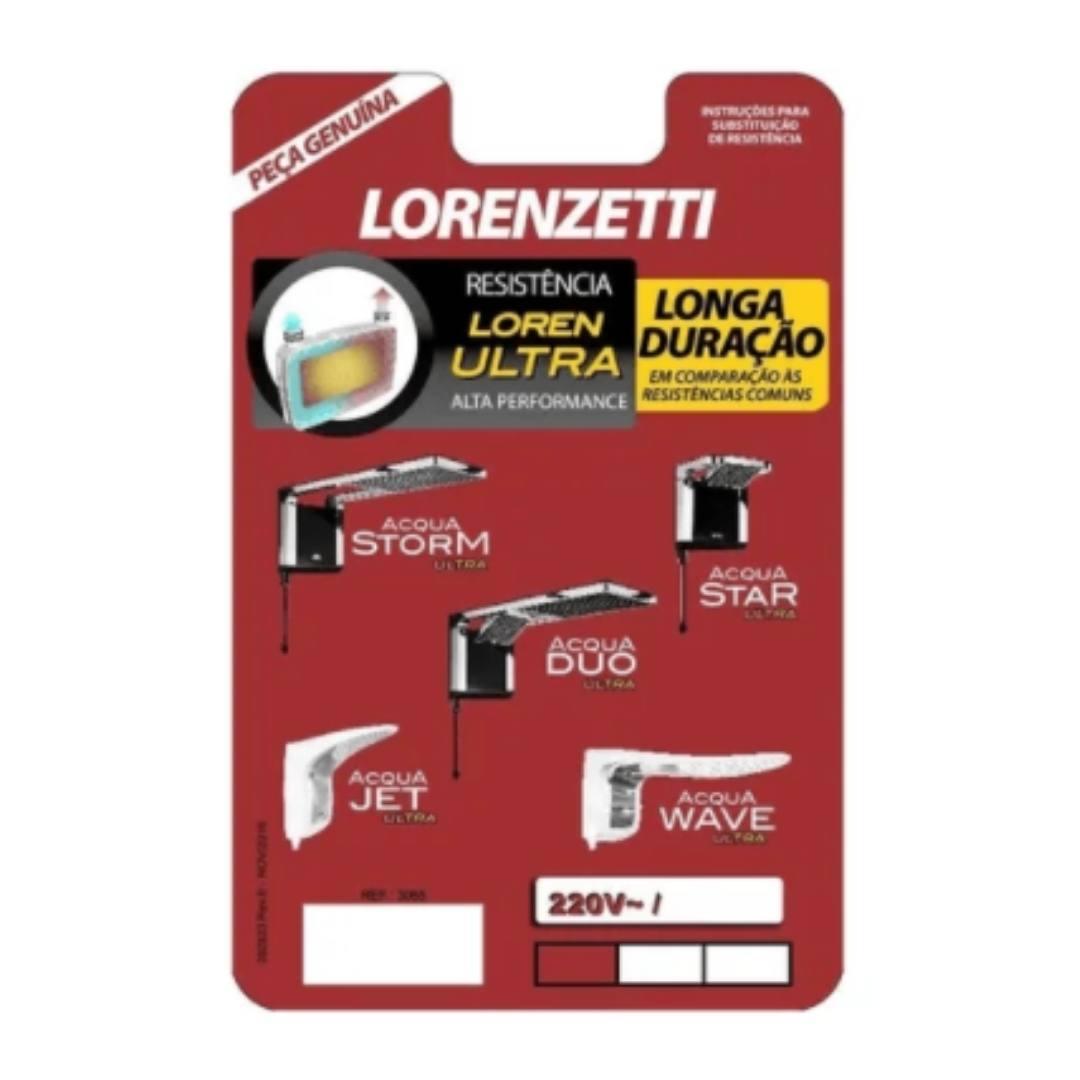 Resistência Lorenzetti Loren Ultra 220v 7800w