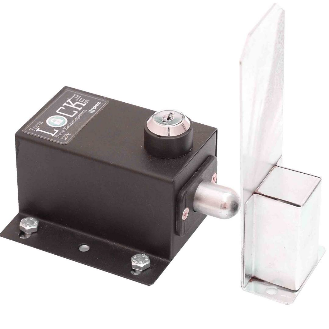 Trava Para Portão Automático com Temporizador Lock Plus - Ipec