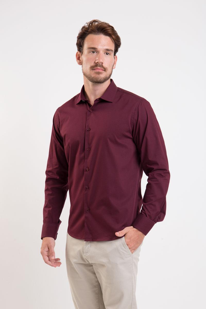 Camisa Slim Fit Easy Iron com Elastano | Cores