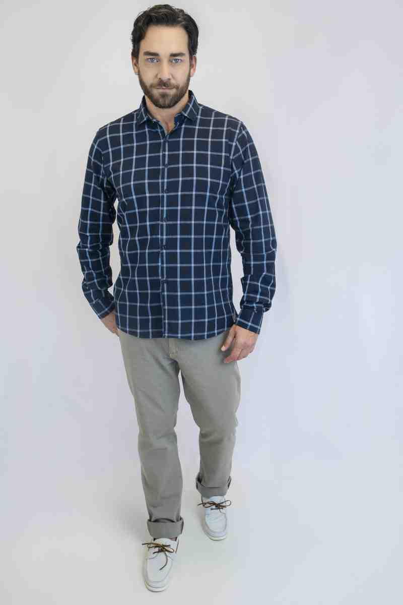 Camisa Flamê Fio Tinto Xadrez | Cores