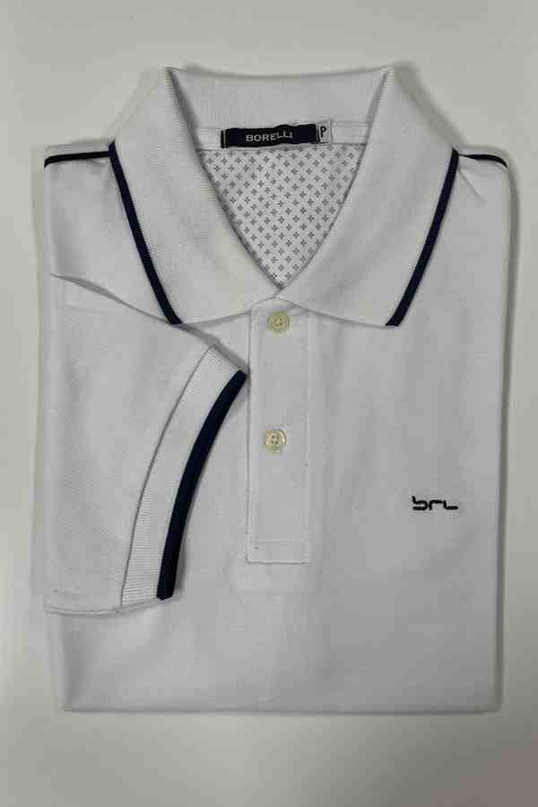 Camisa Polo | Detalhe na Manga e na Gola | Cores