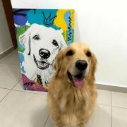 Quadro Canvas modelo GRAFITE
