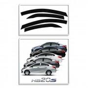 Calha De Chuva Hyundai Hb20S 4 Portas Sedan - Diadema