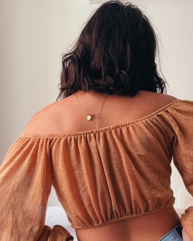 Blusa da vovó Marcela