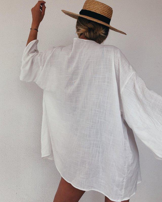 Kimono de tecido da vovó Jade