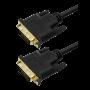 Cabo Dvi-d Dual Link 24+1 Macho X Dvi 24+1 Macho 3 Metros ChipSce 5+ 018-9558