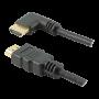 Cabo HDMI PIX 10m 2.0 4K 19 Pinos - Plug 90 Graus 018-3330