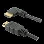 Cabo HDMI PIX 3m 2.0 4K 19 Pinos - Plug 90 Graus 018-3323