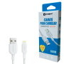 Cabo Usb Carregar Dados Turbo Lightning Compatível iPhone 5 6 7 8 9 Xr 11 Sumexr Premium