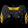 Controle Com Fio Para PC PS3 Tv Box Smash Amarelo FR-218 Feir