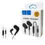 Fone de ouvido Com Microfone P3 Lehmox LEF-1006