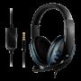 Headset Gamer Lehmox LEF-1020 P3 Azul - Xbox PS4 PS5 Celular