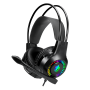 Headset Gamer Rgb Apolo Eg-304 Evolut 2x 3,5mm + Usb P/ Led PS4 PS5 Celular Xbox