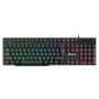 Kit Gamer Teclado Semi Mecânico + Mouse 1200DPI + Headset + Mousepad EG-51