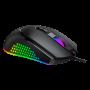 MOUSE GAMER BALDER LED RGB 7000 DPI SENSOR PIXART 3325 EG-107