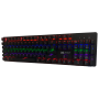 Teclado Mecânico Gamer Switch Blue 100% Anti-Ghosting 8 Modos De Iluminação Knup KP-2051