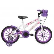 Bicicleta Free Action Aro16 Kiss Feminino Violeta