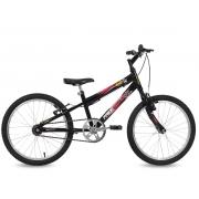 Bicicleta Free Action Aro20 Joy Masculino Preta