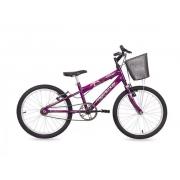 Bicicleta Free Action Aro20 Kiss Feminino Violeta
