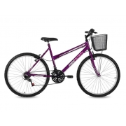 Bicicleta Free Action Donna Aro26 18m Fem.violeta