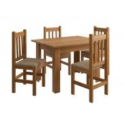 Cadeira Zamarchi R15 Canela Tec Suede Cacau